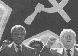Mandela and Joe Slovo, 1990
