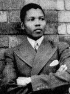 The young Mandela
